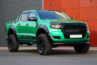 Ford Ranger 2.2 Seeker Raptor Hulk edition Pick Up Double Cab T7 with  over 8k style spend Pick Up Diesel Green Metallic WrapFord Ranger 2.2 Seeker Raptor Hulk edition Pick Up Double Cab T7 with  over 8k style spend Pick Up Diesel Green Metallic Wrap at Motorseeker UK Chesterfield