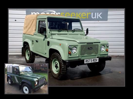 Seeker Styling's tribute to the last Land Rover Defender to roll off the production line