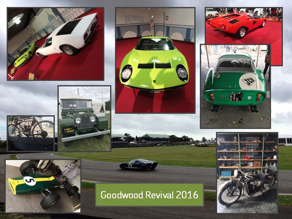 Goodwood Revival 2016!  READ OUR LAND ROVER BLOGS!