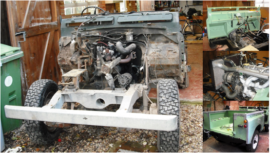 Land Rover Series IIA full strip down nuts and bolts restoration!