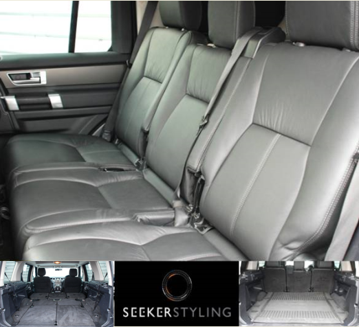 Rear Seat Conversions for Used Land Rover Commercial Discovery 4 using Genuine Land Rover Leather Rear Seats - £2,970+VAT