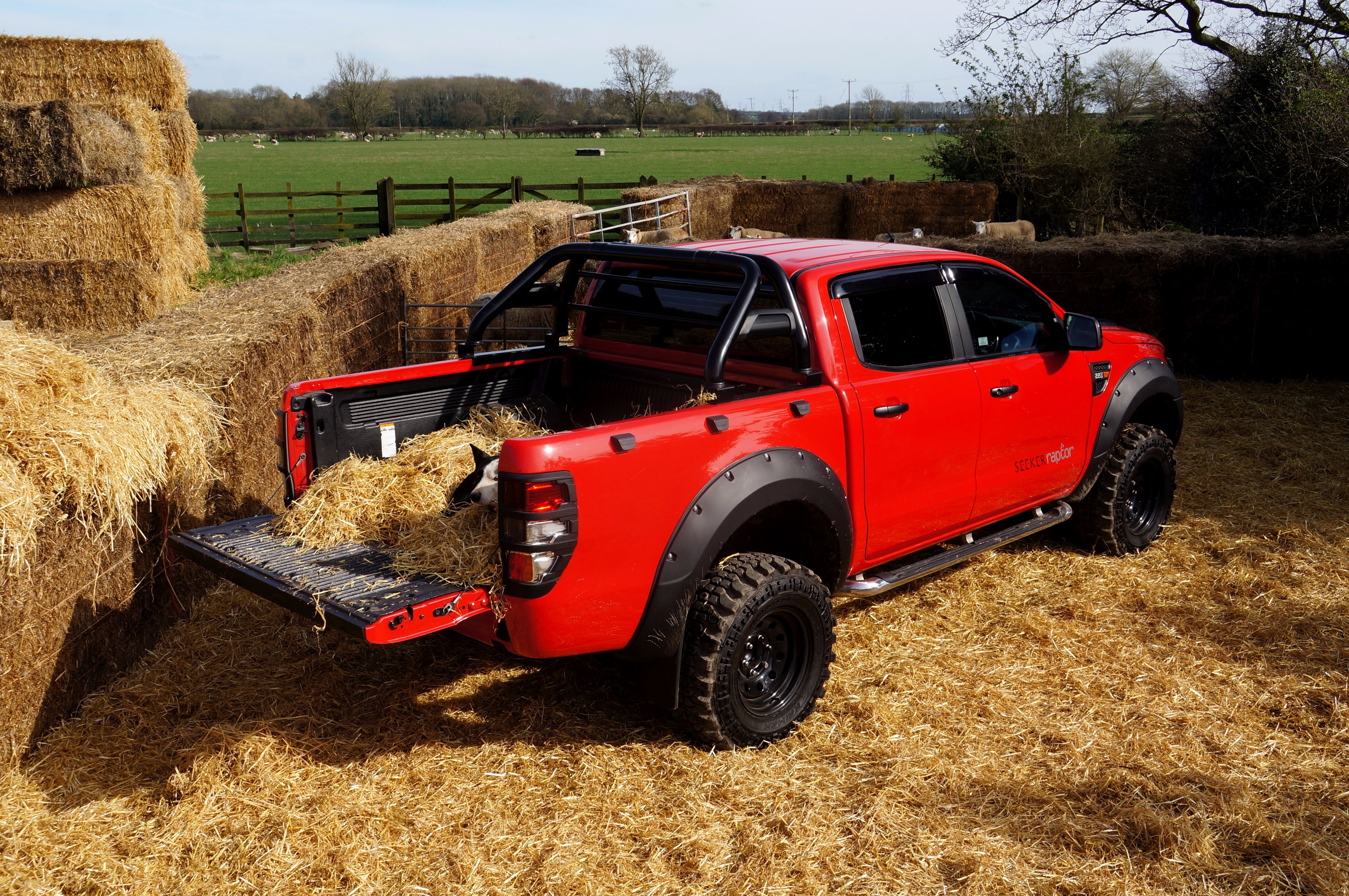 Ford Ranger SEEKER Raptor - the 'go anywhere', 'do anything' truck