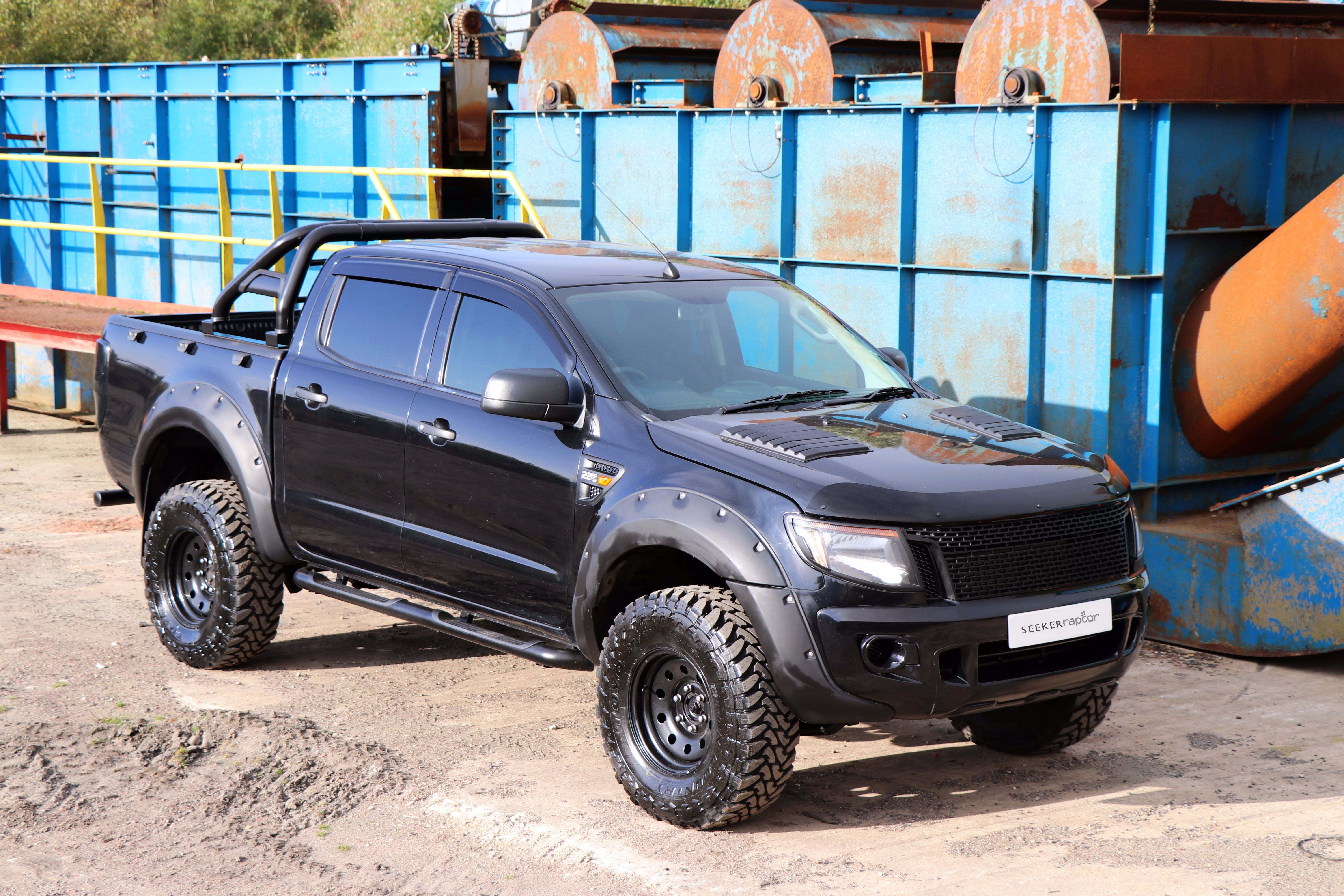ford ranger seeker raptor all black edition now launched motorseeker uk chesterfield. Black Bedroom Furniture Sets. Home Design Ideas