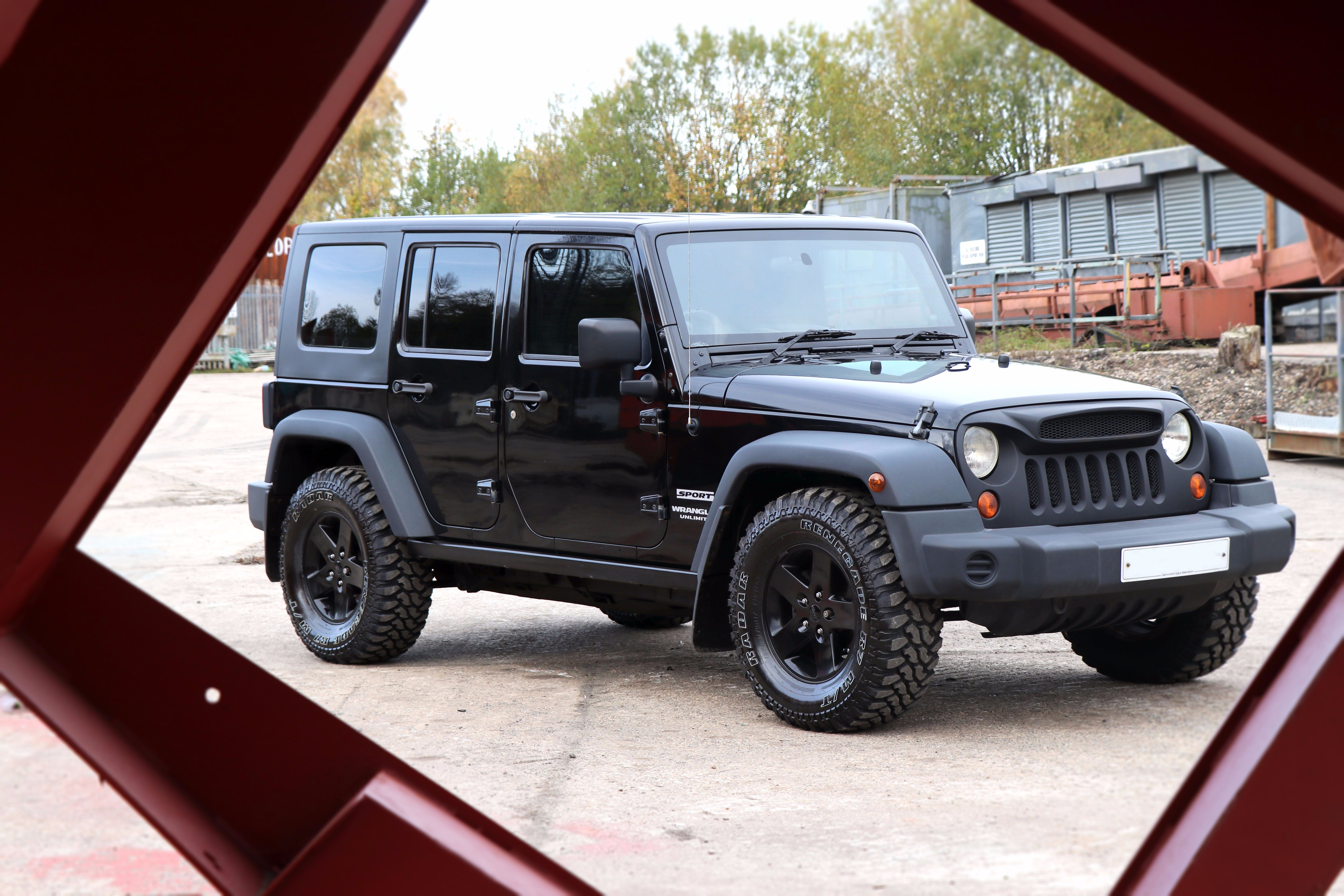 Introducing our SEEKER All Black Edition Jeep Wrangler, styled by Seeker Styling!