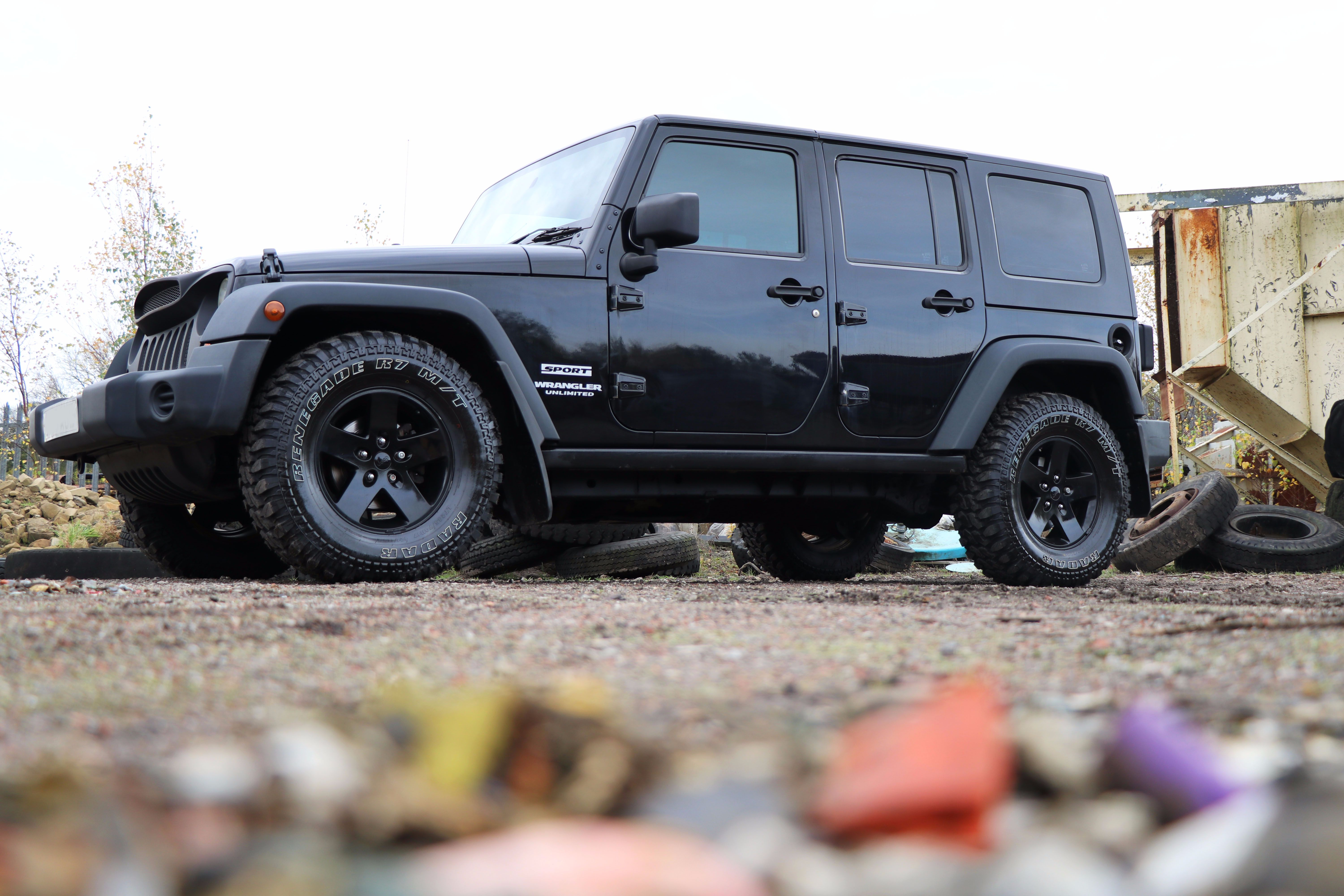 Introducing our SEEKER All Black Edition Jeep Wrangler styled by