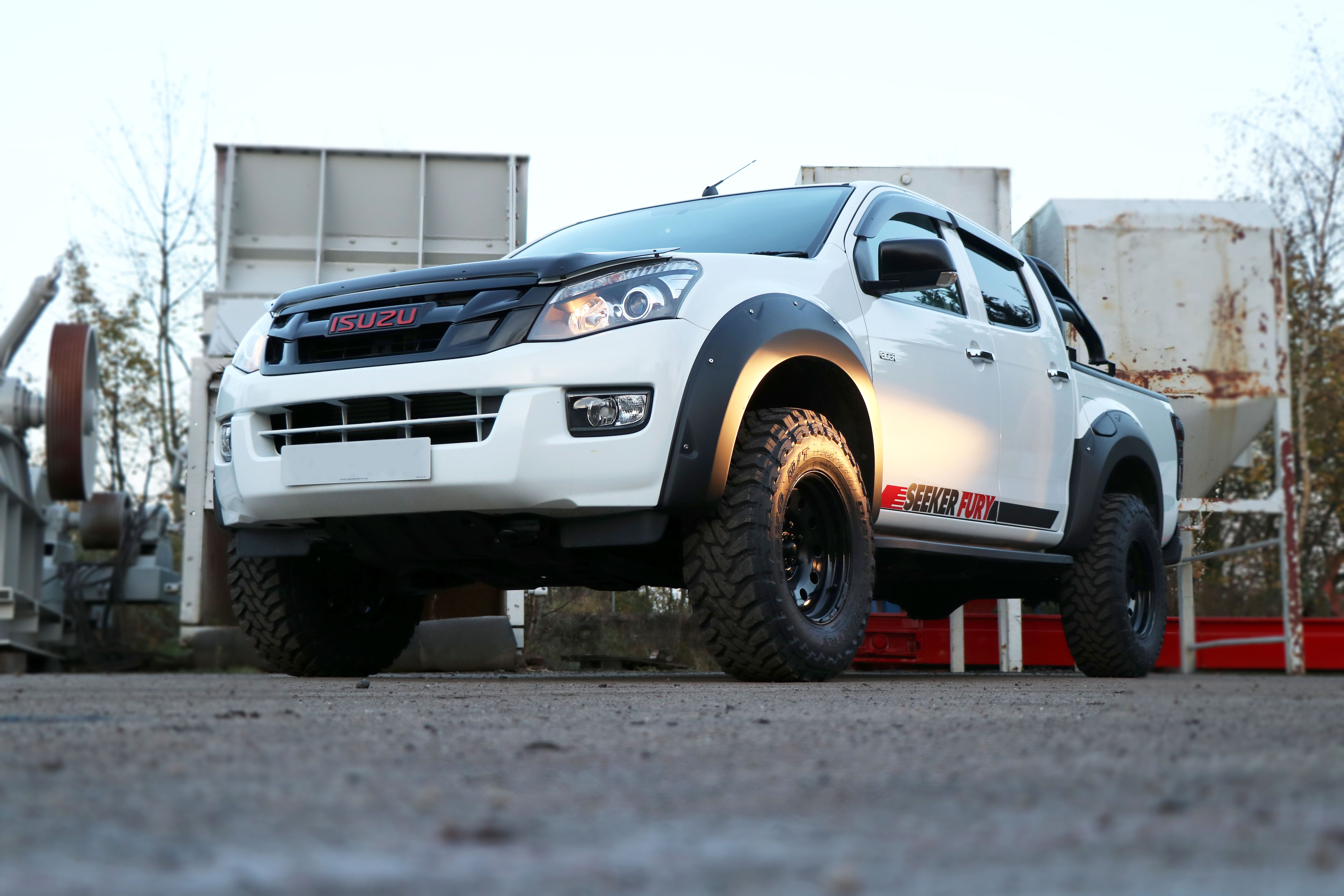 Launching our SEEKER Fury Edition - a conversion for the Isuzu D-Max!